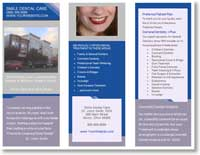 Customizable template for making your own brochure