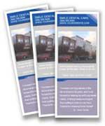 Customized professional practice brochures