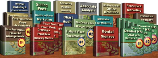 Dental marketing tutorials & dental management continuing education